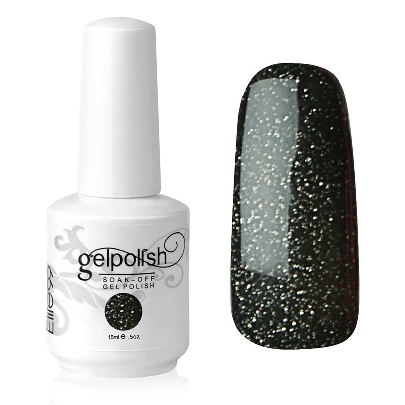 15ML LONG-LASTING GLITTER NAIL ART GEL POLISH (1549)