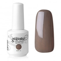 15ML SOAK OFF NAIL GEL POLISH ESPRESSO (1541)