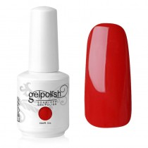 15ML UV GEL NAIL POLISH NAIL CHARM OF RED (1539)