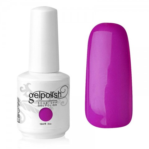 15ML UV LED GEL POLISH NAIL ART PURPLE GIRL (1556)