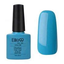 7.3ML SHELLAC GEL NAIL POLISH CERULEAN SEA (90518)