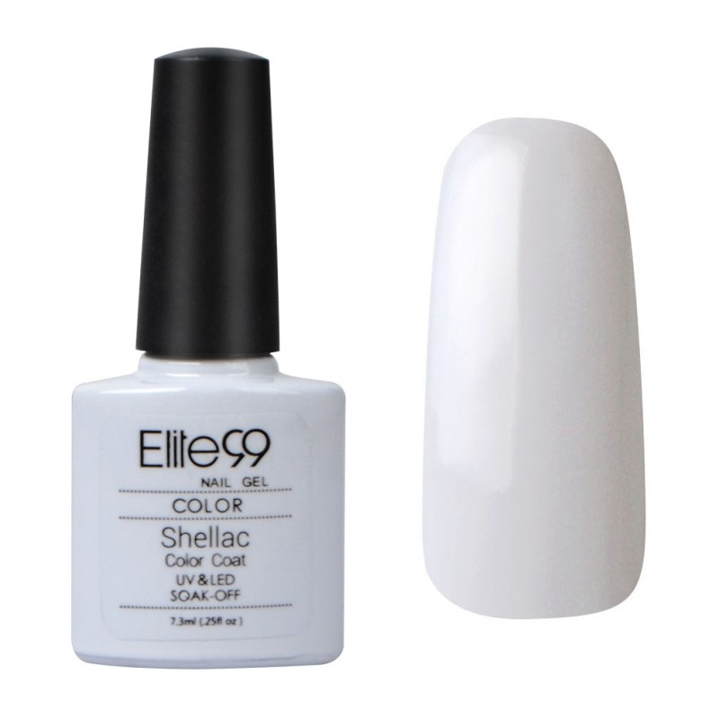 7.3ML SHELLAC GEL NAIL POLISH CREAM PUFF (40501)