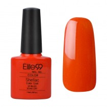 7.3ML SHELLAC HOT GEL POLISH ELECTRIC ORANGE (90514)