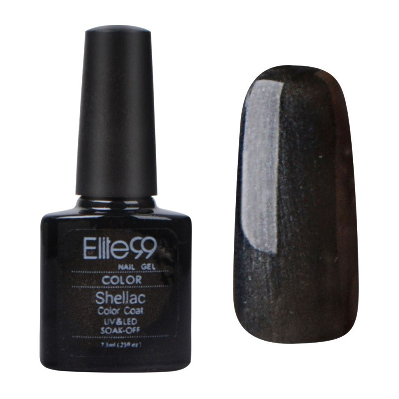 7.3ML SHELLAC SOAK-OFF LONG-LASTING OVERTLY ONYX (40549)