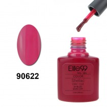 7.3ML SHELLAC SOAK OFF POLISH ROSE RED (90622)