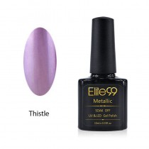 Metallic Gel Nail Polish Soak Off UV LED 5909 Thistle