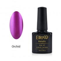 Metallic Gel Nail Polish Soak Off UV LED 5910 Orchid