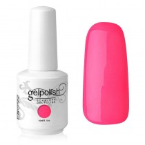 15ML GEL NAIL POLISH SOAK OFF NAIL ART BLINK PINK (1558)