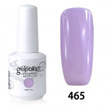 15ML SOAK OFF NAIL ART GEL POLISH PURPLE(465)