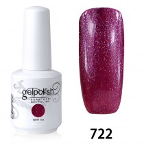 15ML SOAK OFF NAIL ART GEL POLISH RED(722)
