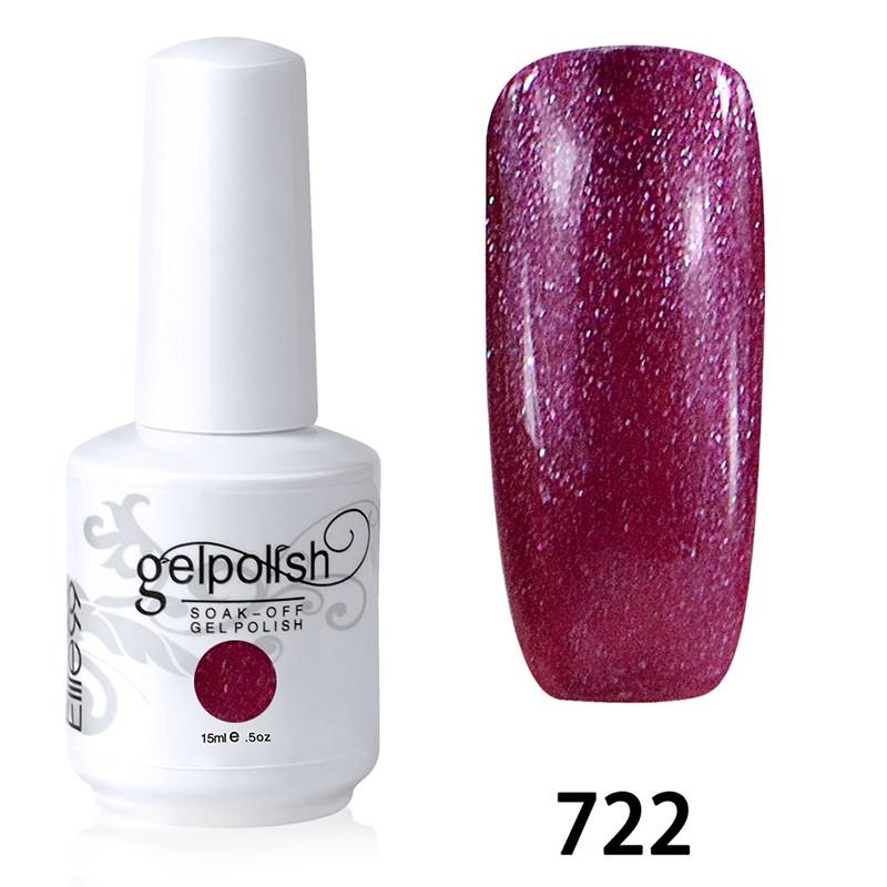 15ML SOAK OFF NAIL ART GEL POLISH RED(722)