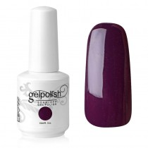 15ML GELISH NAIL POLISH MANICURE PLUM AND DONE (1417)