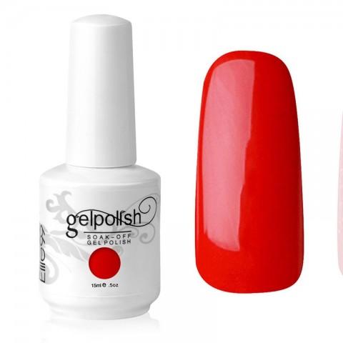 15ML SOAK OFF GEL POLISH NAIL ART RED ROSES(1343)