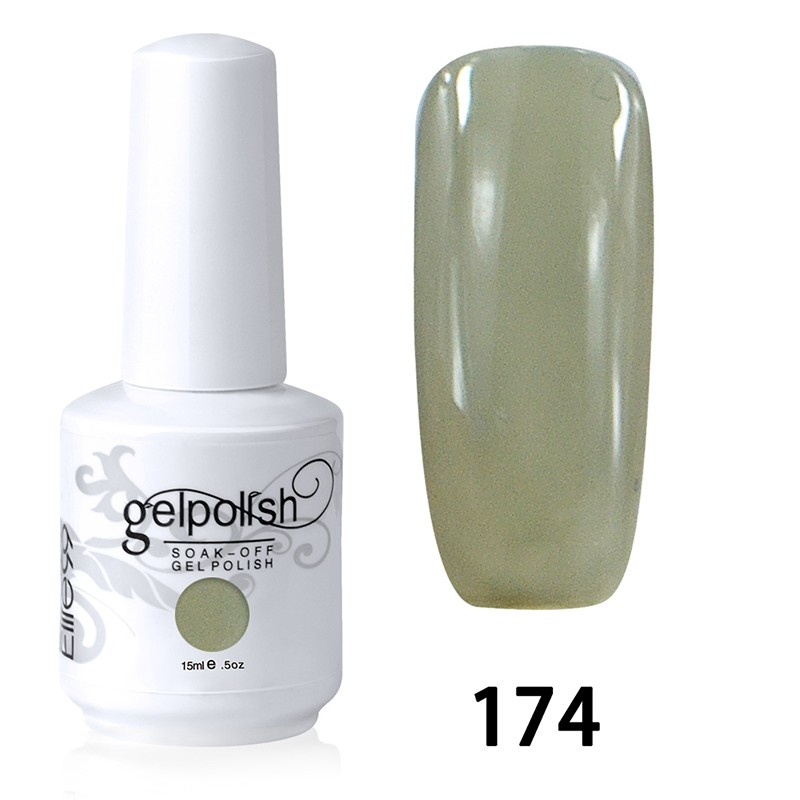 15ML SOAK OFF NAIL ART GEL POLISH GREEN(174)
