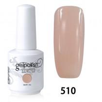 15ML SOAK OFF NAIL ART GEL POLISH PINK(510)