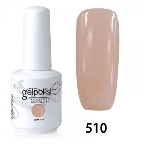 15ML SOAK OFF NAIL ART GEL POLISH PINK(510)