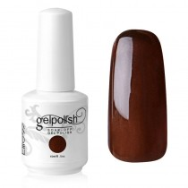 15ML UV GELISH NAIL POLISH NAIL ART COFFEE (1456)